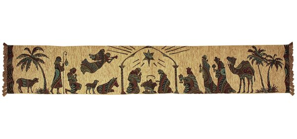 Away in a Manger Runner by Manual Woodworkers & Weavers