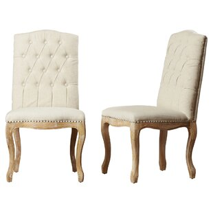 Bernadine Upholstered Dining Chair Set Of 2
