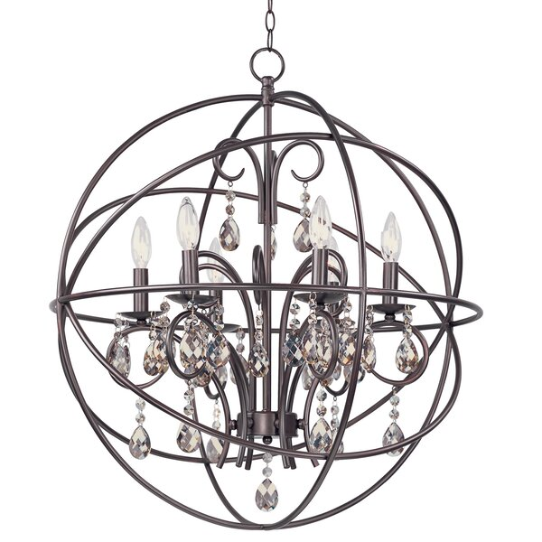 Alden 6-Light Globe Chandelier by Willa Arlo Inter