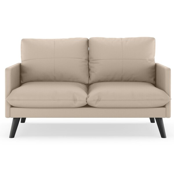 Roermond Vegan Loveseat by Brayden Studio