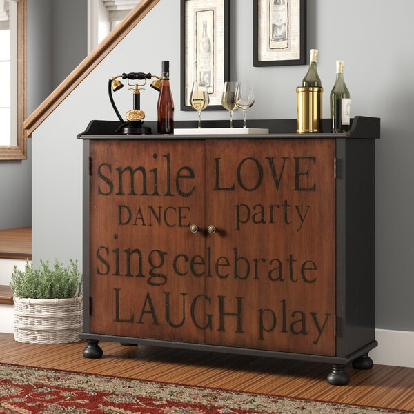 Sprowston Bar Cabinet with Wine Storage by Red Barrel Studio