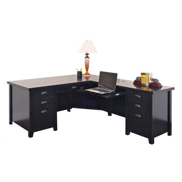 Tribeca L-Shaped Desk by Three Posts