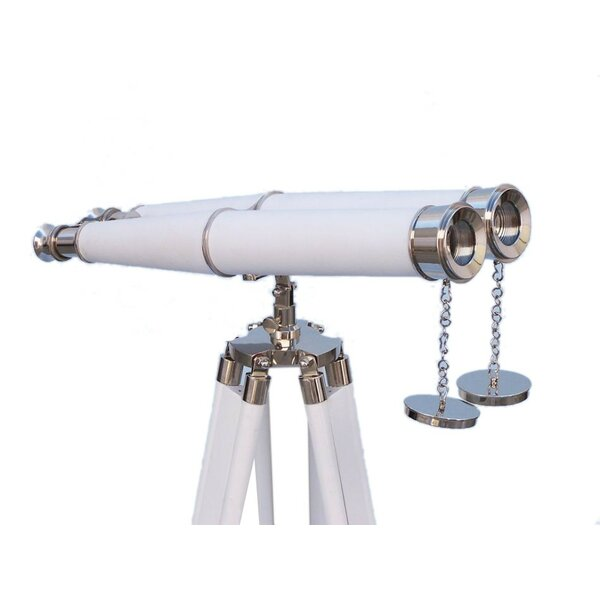 Hampton Binocular Telescope by Handcrafted Nautical Decor