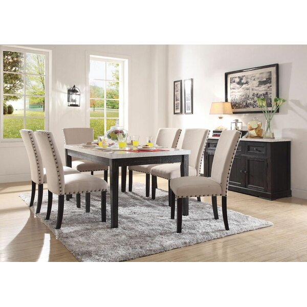 Densmore 7 Pieces Dining Set by Gracie Oaks