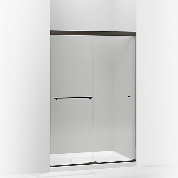 Revel 47.63 x 76 Double Sliding Shower Door with CleanCoat® Technology by Kohler