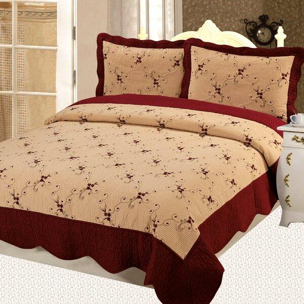 Napoles Premium 3 Piece Reversible Quilt Set by Home Sensation
