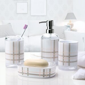 Bathroom Accessories Grey grey bathroom accessories you'll love   wayfair