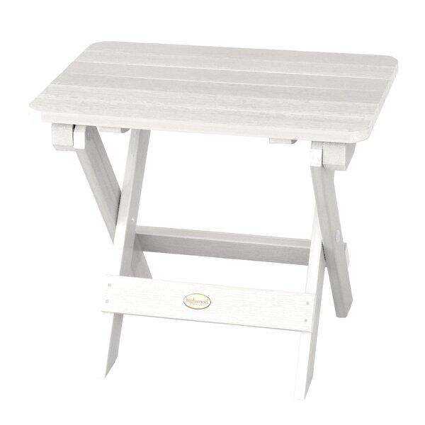 Amiya Folding Side Table by Breakwater Bay