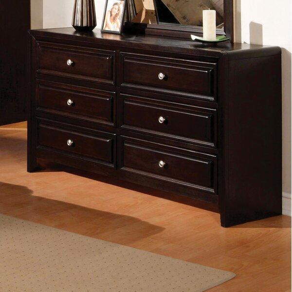 Winsor 6 Drawer Double Dresser by Hokku Designs