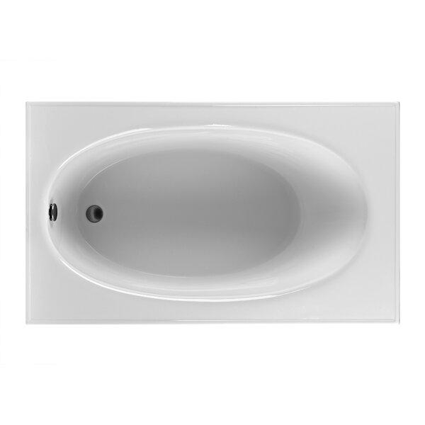 Rectangle 59.25 x 35.5  Soaking Bathtub by Reliance