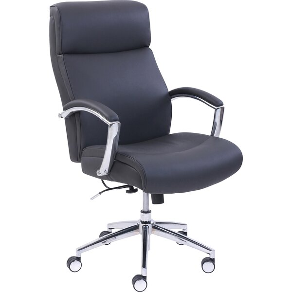 Lorell Executive Leather High-Back Chair