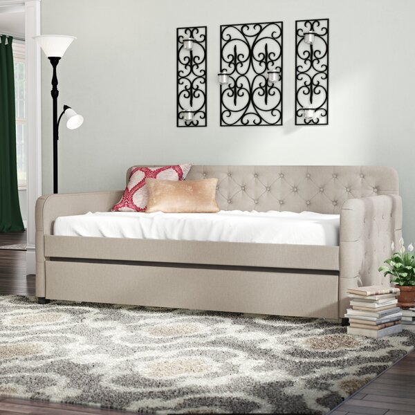 Read Reviews Astra Twin Daybed with Trundle by Andover Mills