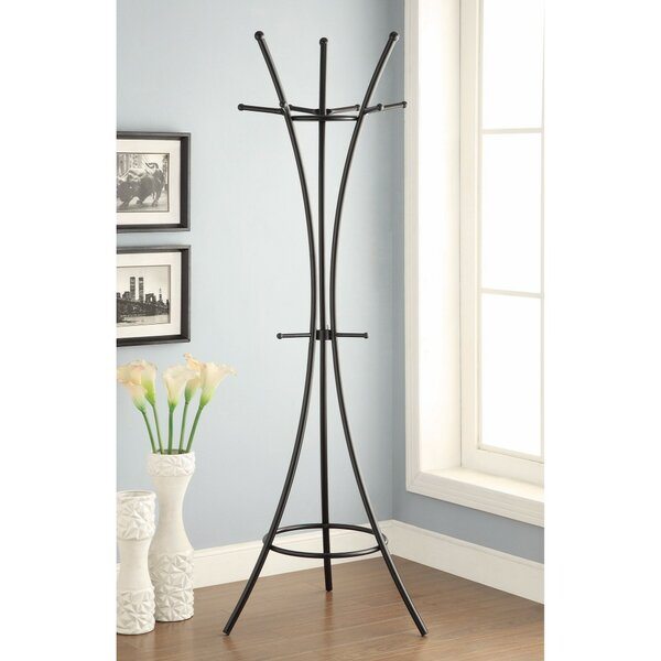 Fales Metal Standing Coat Rack by Ebern Designs
