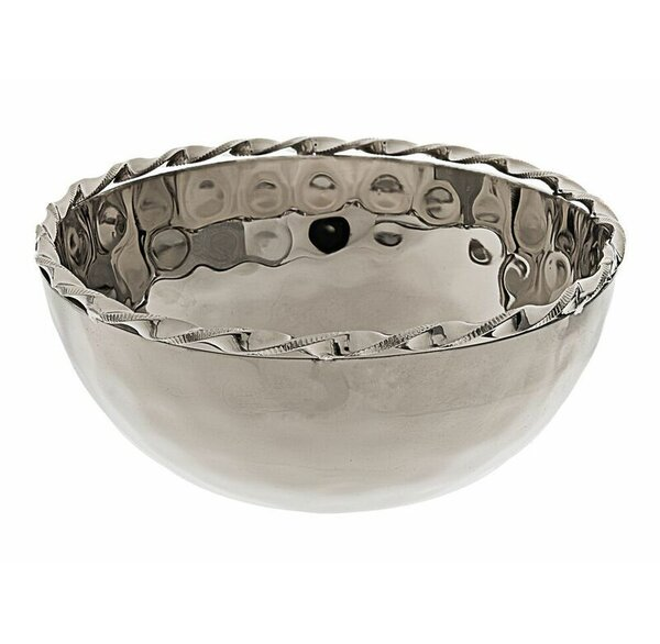 Hammered Salad Bowl by Classic Touch