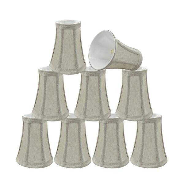 4'' Fabric Bell Lamp Shade (Set of 9) by Ophelia & Co.