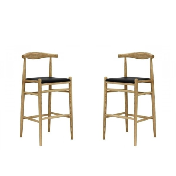 Valera 30'' Bar Stool (Set of 2) by Foundry Select Foundry Select