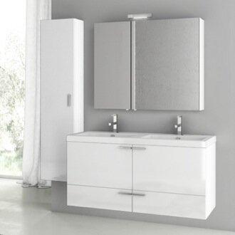 Letourneau 47 Double Bathroom Vanity Set
