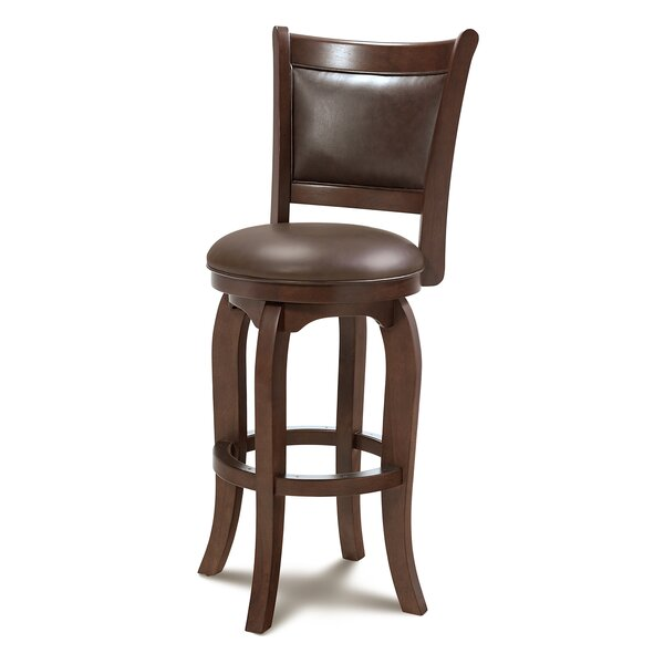 Hubert 31 Swivel Bar Stool by Darby Home Co