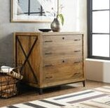 Rustique 2 Drawer Lateral Filing Cabinet by Hooker Furniture