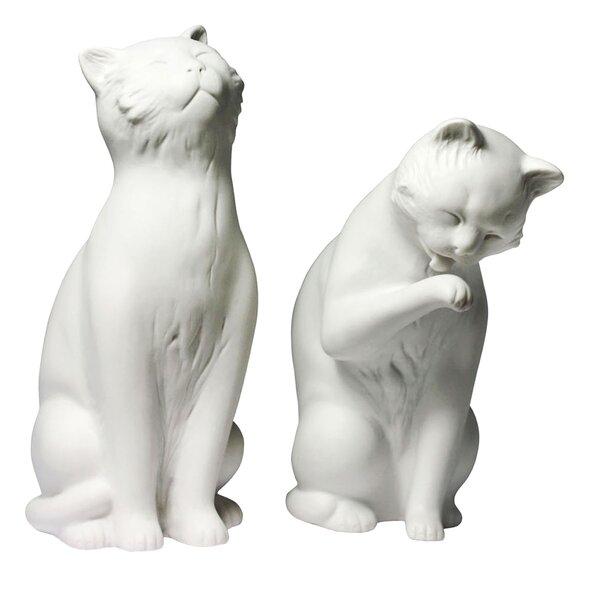 Tabron Cat Book Ends (Set of 2) by Winston Porter