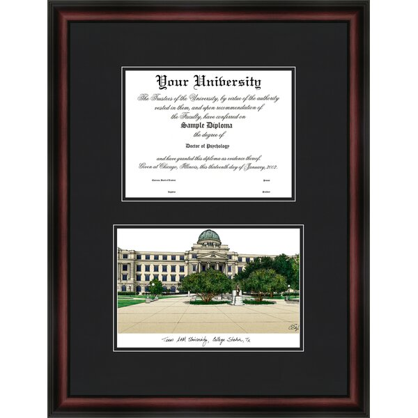 NCAA Diplomate Diploma Picture Frame by Campus Images
