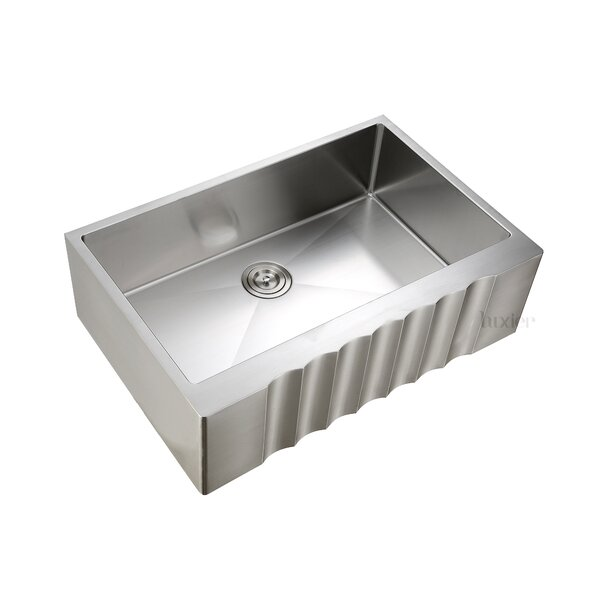 Luxury Handmade  33 x 22 Farmhouse Kitchen Sink by Luxier
