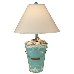Best Reviews Coastal Living Bucket of Shells 27.5 Table Lamp By Coast Lamp Mfg.