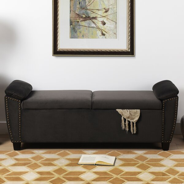 Hartwig Upholstered Storage Bench By House Of Hampton No Copoun