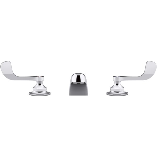 Triton Bowe 1.0 GPM Widespread Bathroom Sink Faucet with Aerated Flow and Wristblade Handles, Drain Not Included