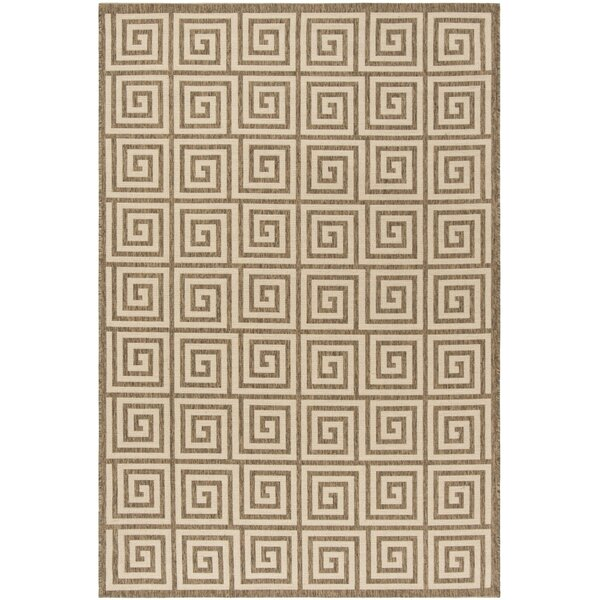Kallias Cream/Beige Area Rug by Brayden Studio