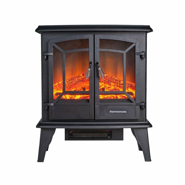 Henrie Portable Electric Fireplace By Charlton Home