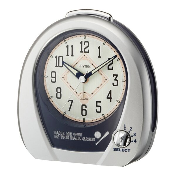 Baseball Alarm Clock by Rhythm U.S.A Inc