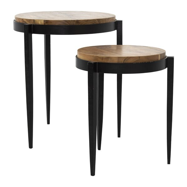 Phelps 2 Piece Nesting Tables By 17 Stories