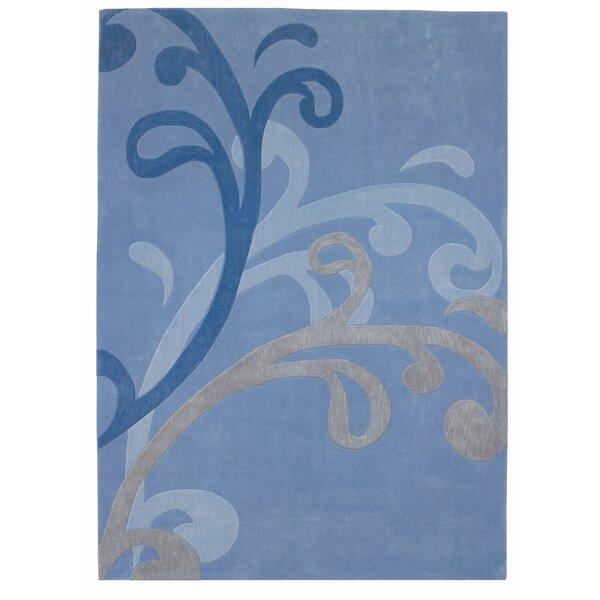 Mystique Blue Splash Area Rug by Dynamic Rugs