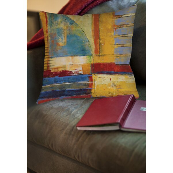 Copeland 1 Printed Throw Pillow by World Menagerie| @ $20.99