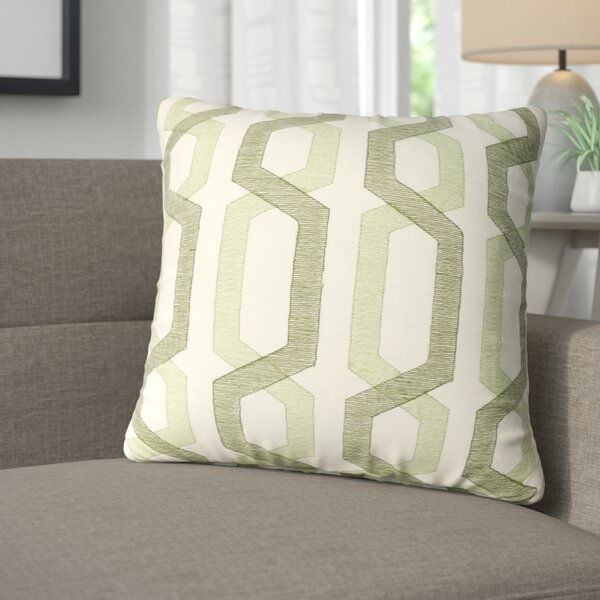 Alphonso Cotton Throw Pillow by Corrigan Studio