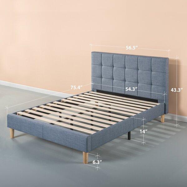 Dimattia Upholstered Platform Bed by Corrigan Stud