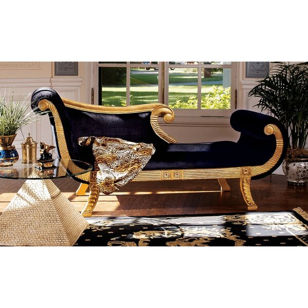 Cleopatra Neoclassica Chaise Lounge by Design Toscano