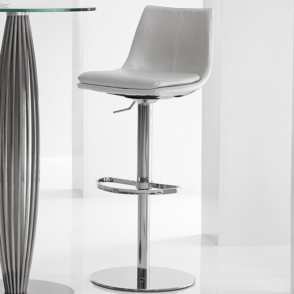 Monte Carlo Adjustable Height Swivel Bar Stool by Bellini Modern Living
