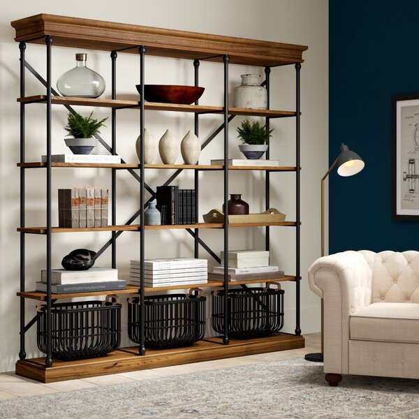Poynor Library Bookcase by Greyleigh