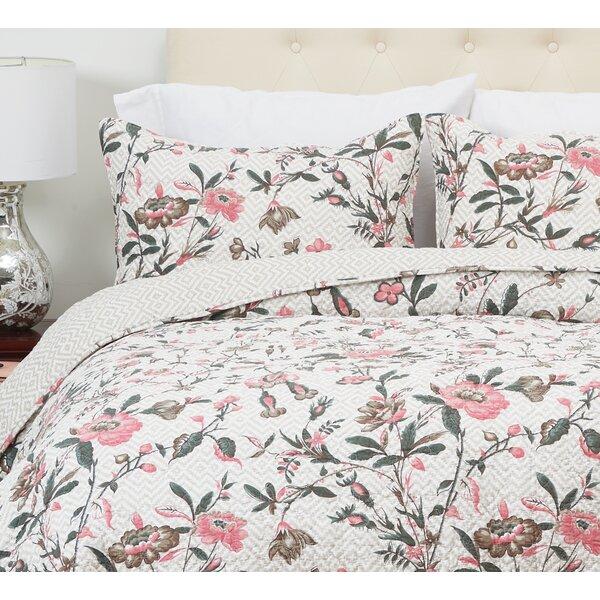 Blair Garden Reversible Quilt Set by C&F Home