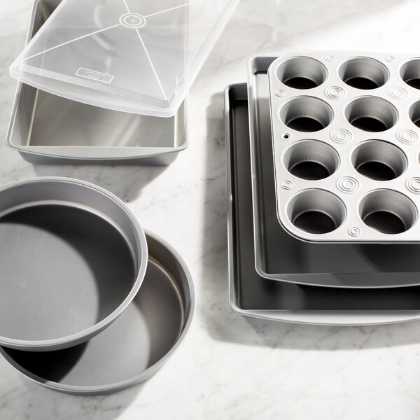 Wayfair Basics Nonstick 7 Piece Bakeware Set by Wayfair Basics™