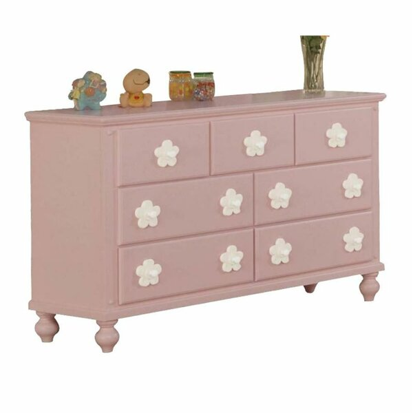 Lizette 7 Drawer Dresser with Mirror by Harriet Bee