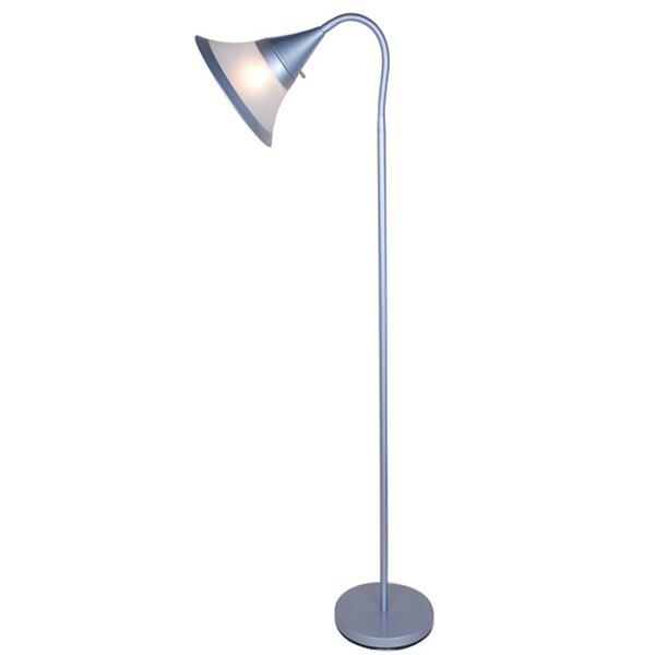 Poyner 59.5 Torchiere Floor Lamp by Winston Porter