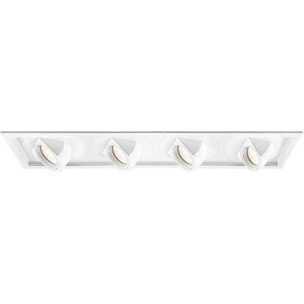 Invisible LED Multi-Spotlight Eyeball Recessed Trim by WAC Lighting