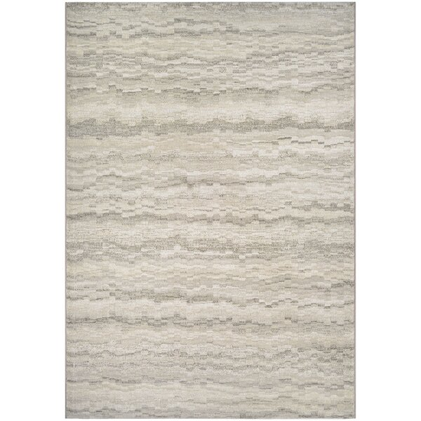 Lou Earthtones/Taupe Area Rug by Latitude Run