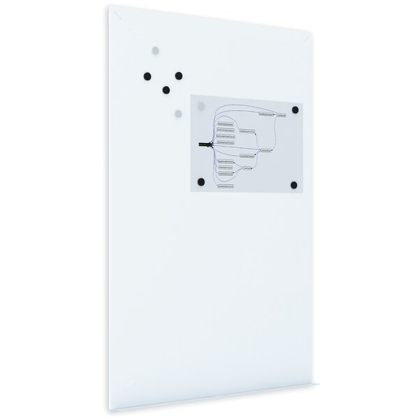 Tile Dry Erase Panel Wall Mounted Magnetic Whiteboard by Mastervision