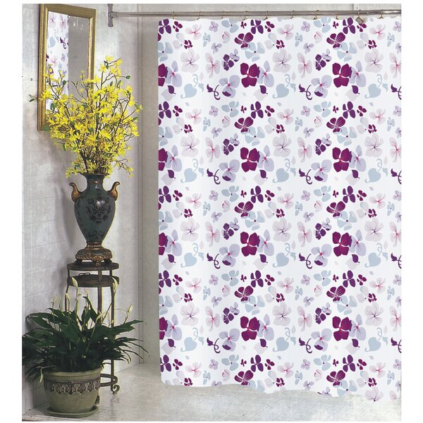 Joanne Shower Curtain by Carnation Home Fashions