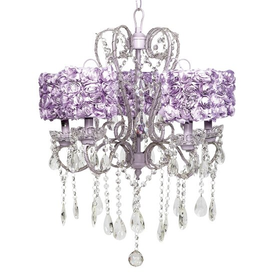 5 - Light Shaded Classic / Traditional Chandelier by Jubilee Collection Jubilee Collection