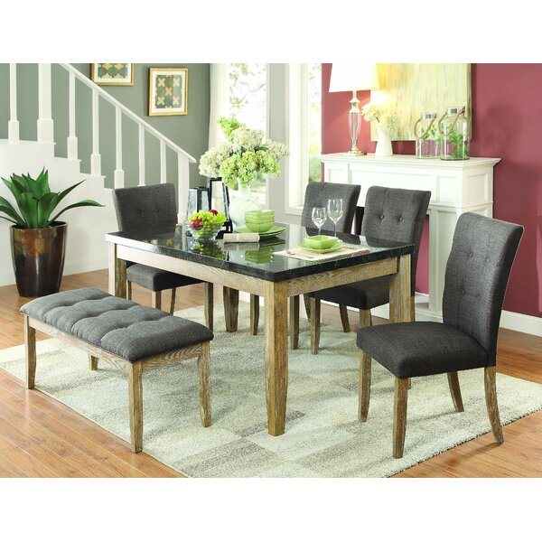 Emington 6 Piece Dining Set by Laurel Foundry Modern Farmhouse Laurel Foundry Modern Farmhouse